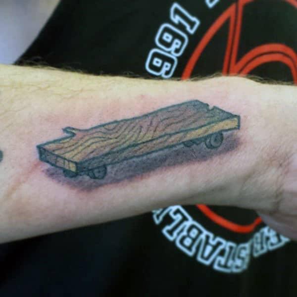 100 Skateboard Tattoos For Men