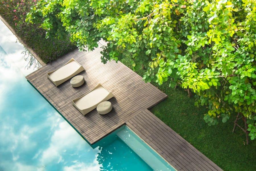 Wood Pool Deck Ideas 12