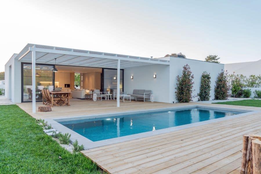 Wood Pool Deck Ideas 13
