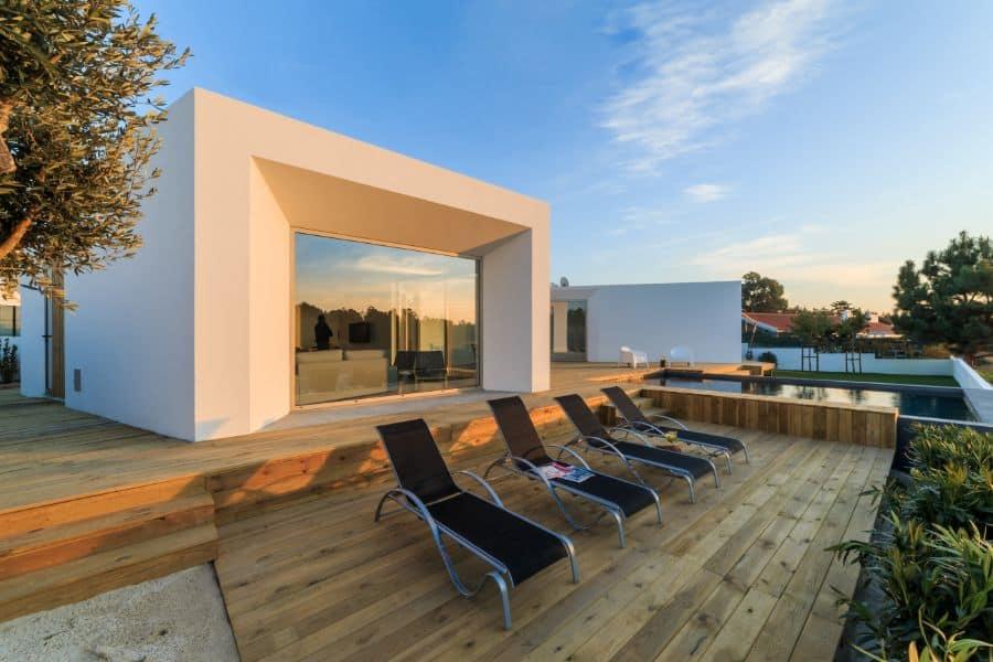 Wood Pool Deck Ideas 15