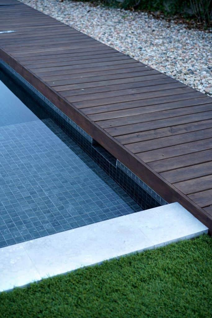 Wood Pool Deck Ideas 16