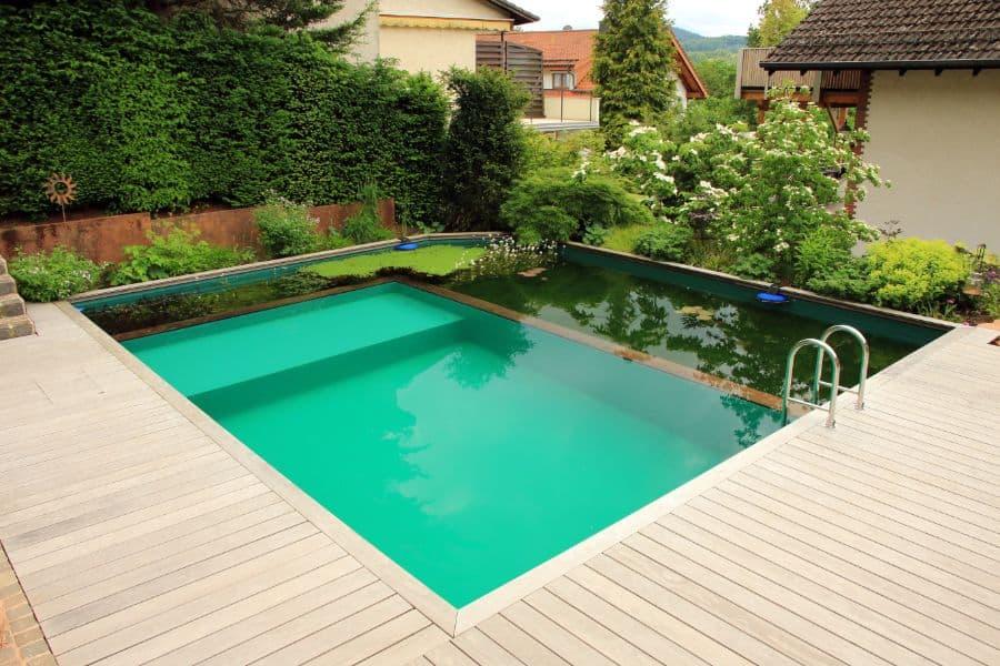 Wood Pool Deck Ideas 19