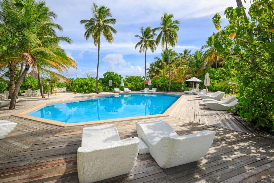 Wood Pool Deck Ideas 21