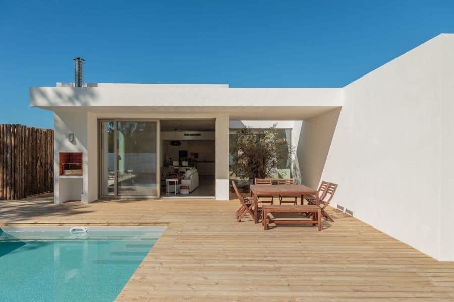 Wood Pool Deck Ideas 3