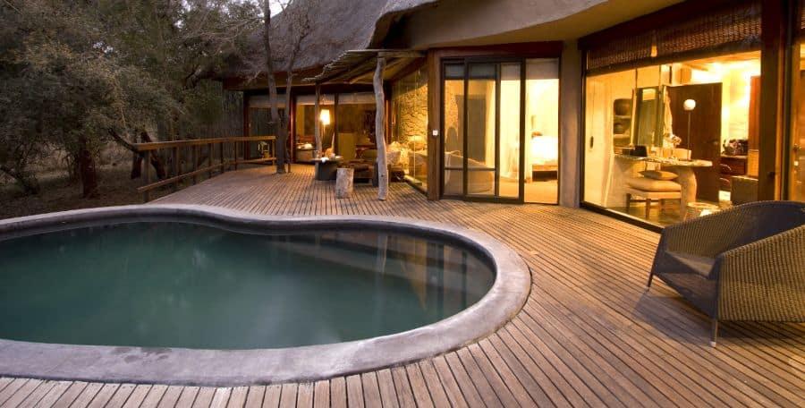Wood Pool Deck Ideas 8