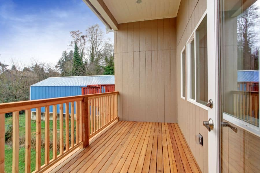 Wood Porch Railing Ideas 1