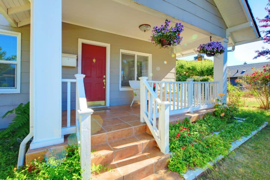 Wood Porch Railing Ideas 2