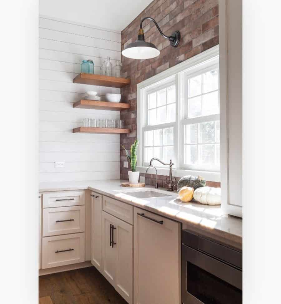 wood shelves kitchen shelving ideas theprettyperchdesignhouse