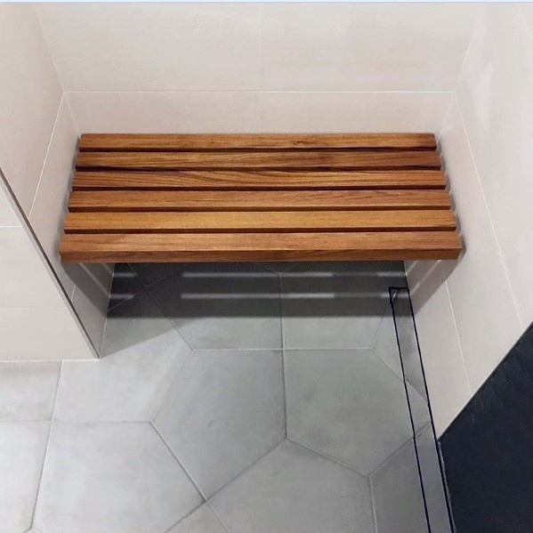 Wood Shower Bench Ideas