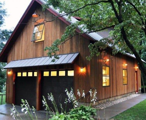 Wood Siding Detached Garage Ideas