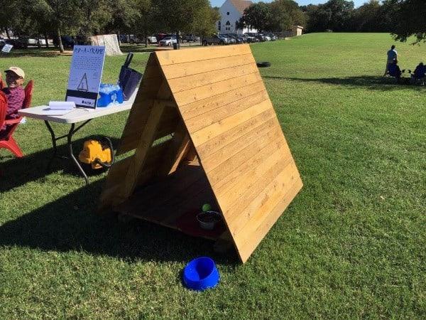 Wood Simple Dog House Ideas