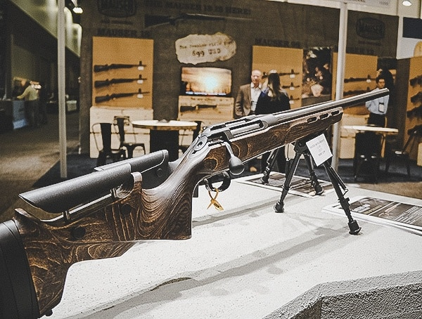 Wood Stock Rifle Las Vegas Shot Show 2019