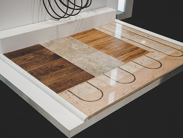 Wood Subfloor Heated Flooring Tube 2019 Nahb Show Las Vegas