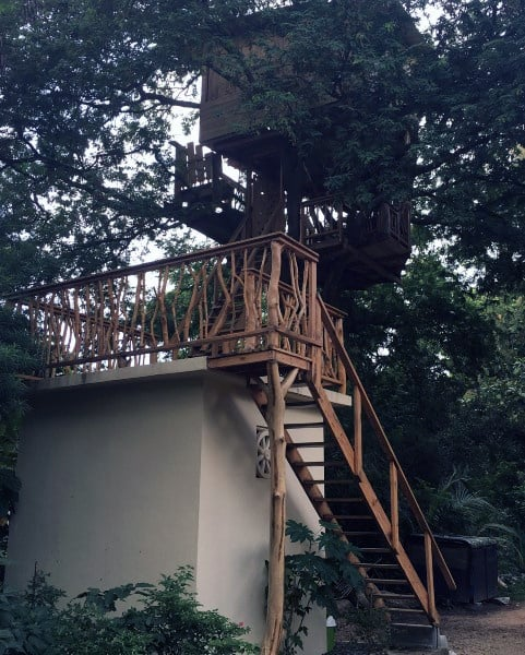 Wood Treehouse Ideas