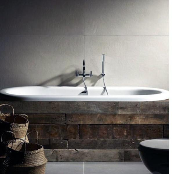 Wood Tub Rustic Bathroom Ideas