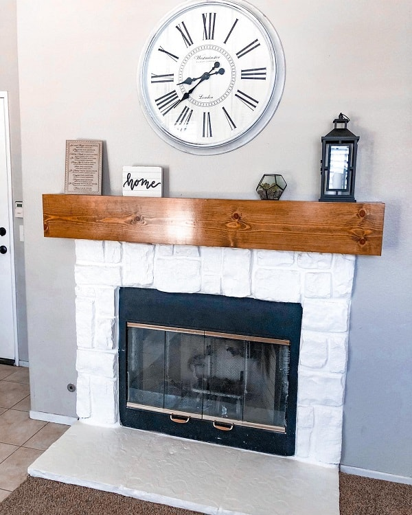 Wood Work Mantel Decor Lmahandmade