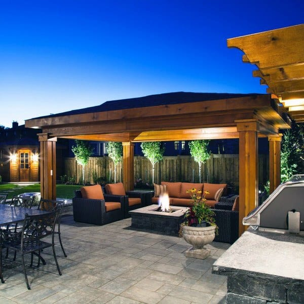 Wooden Backyard Pavilions
