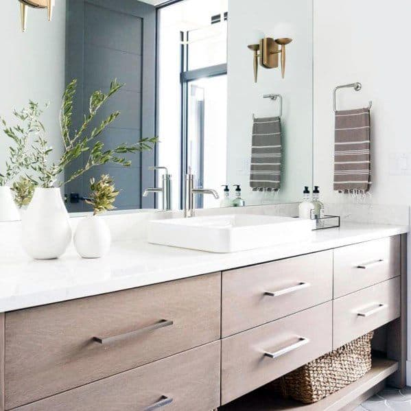 Wooden Bathroom Vanity Spectacular Ideas