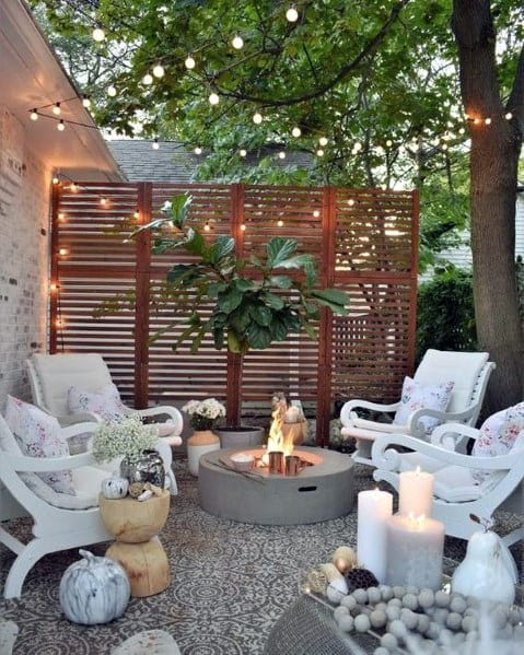 Wooden Fence Design Ideas For Backyard Privacy