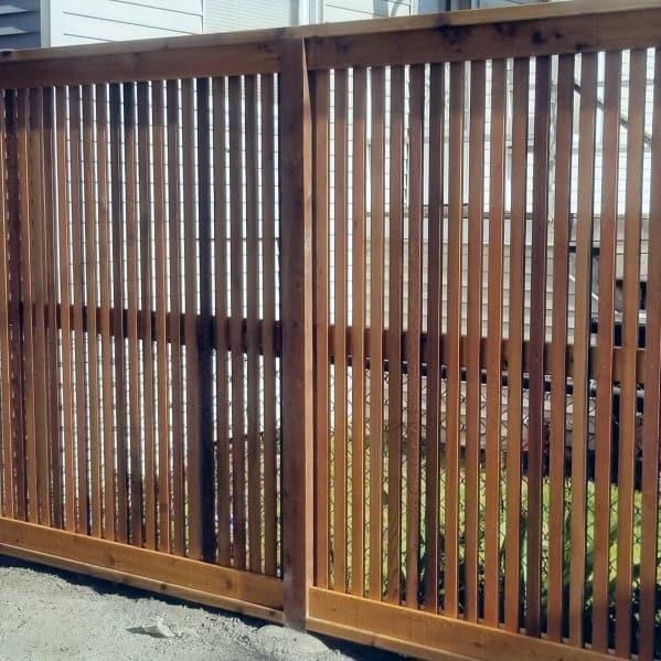 Wooden Fence Design Ideas