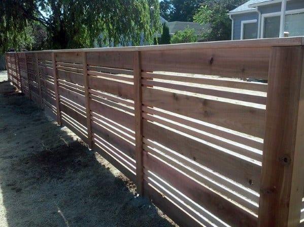 Wooden Fence Design Inspiration