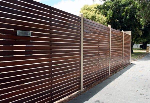 Wooden Fence Idea Inspiration