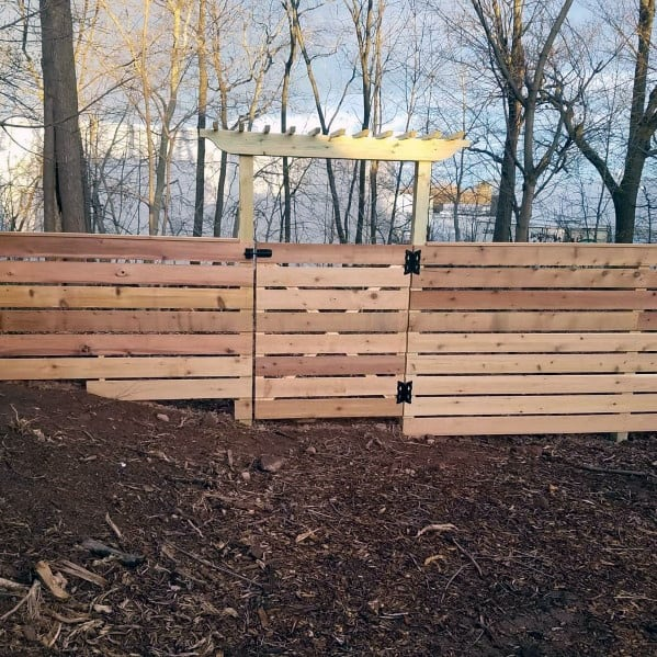 Wooden Fence Ideas Inspiration