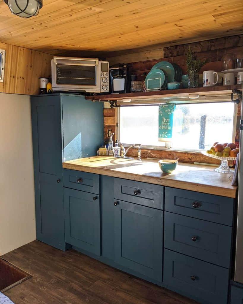 wooden kitchenette ideas makingdohomestead