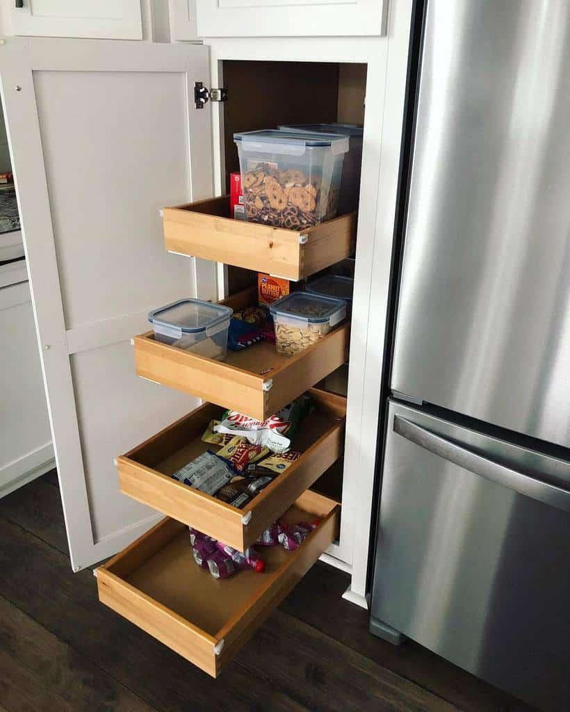 wooden pantry organization ideas conceptsthecabinetshop