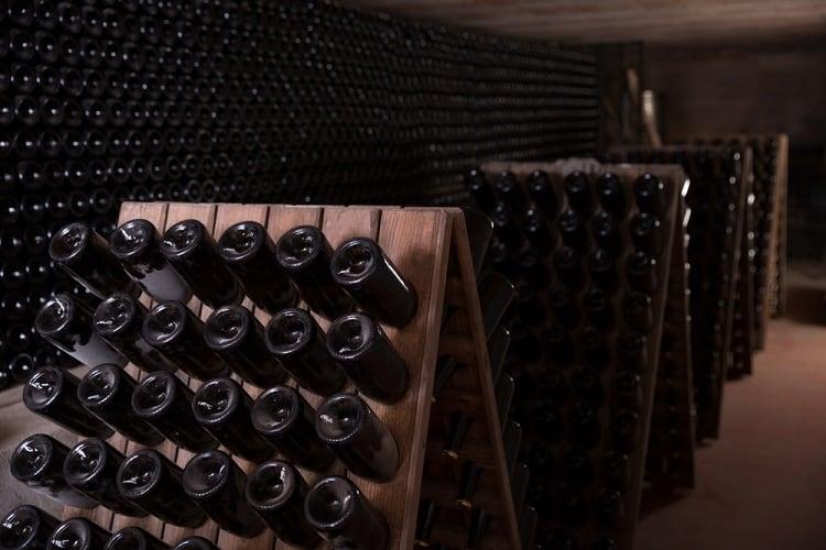 Wooden Racks Wine Cellar Basement Storage