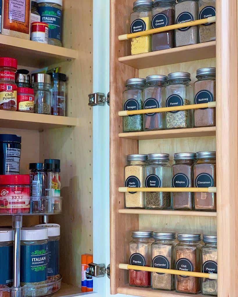 wooden small pantry ideas time4organizing