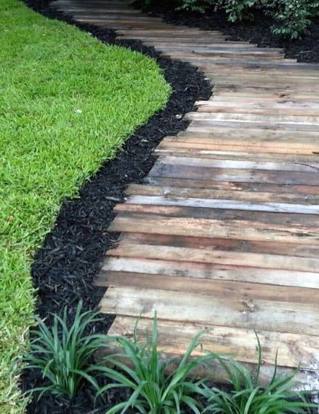 Wooden Walkway Design Idea Inspiration