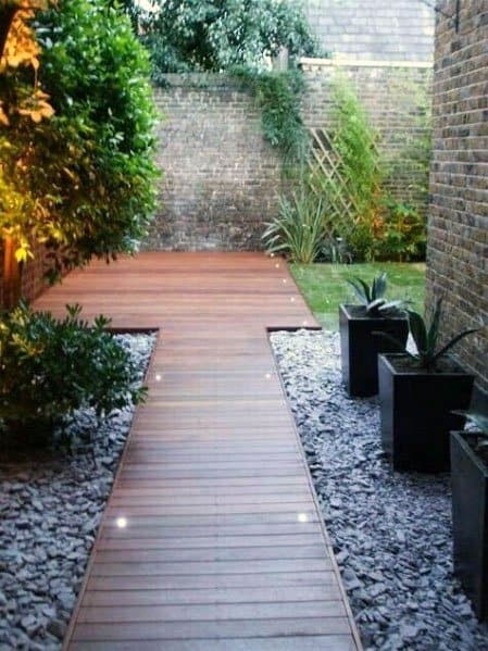 Wooden Walkway Home Deck Ideas