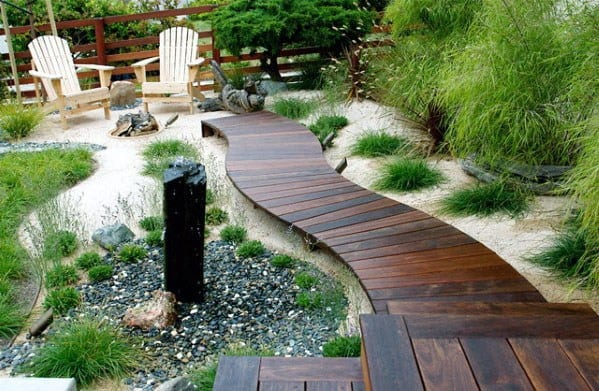 Wooden Walkway Ideas Deck