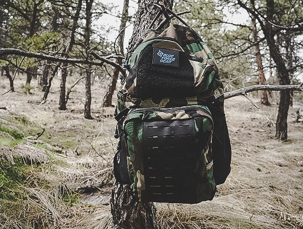 Woodland Camo Tactical Backpacks Blue Force Gear Tracer Review