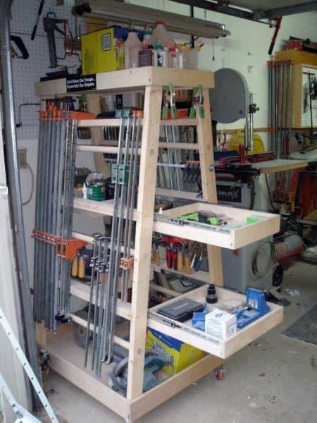 Woodworking Tool Storage Ideas