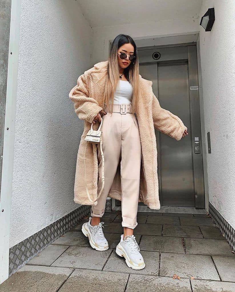 Woolen Coat Street Wear Style