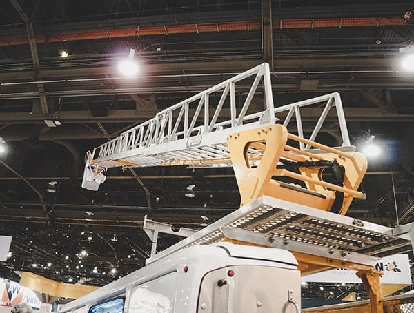 Work Truck With Roof Mounted Ladder 2019 Nahb Show Las Vegas