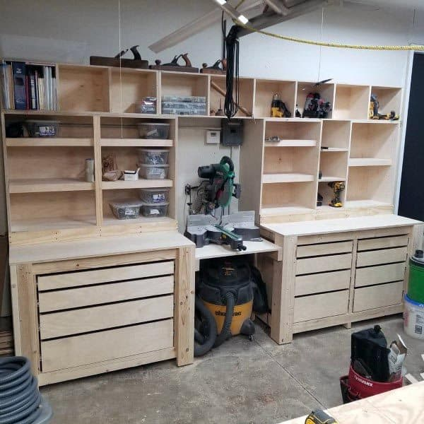 Workbench Tool Storage Ideas