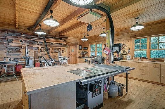 Workshop Layout Ideas For Garage