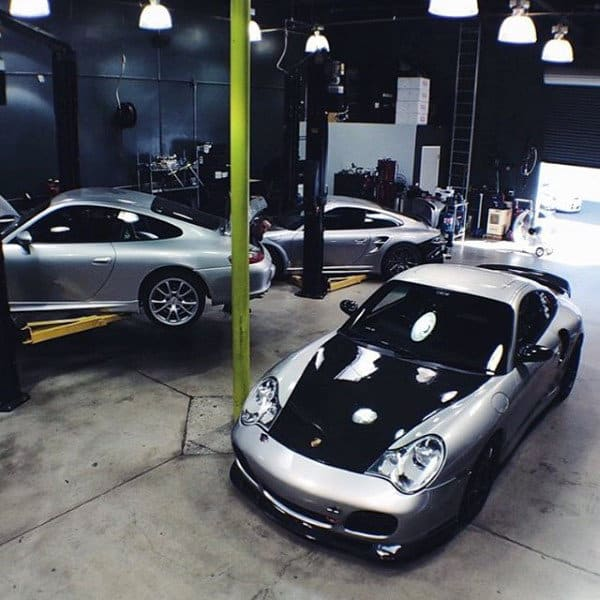 Workshop With Lift Dream Garage For Guys