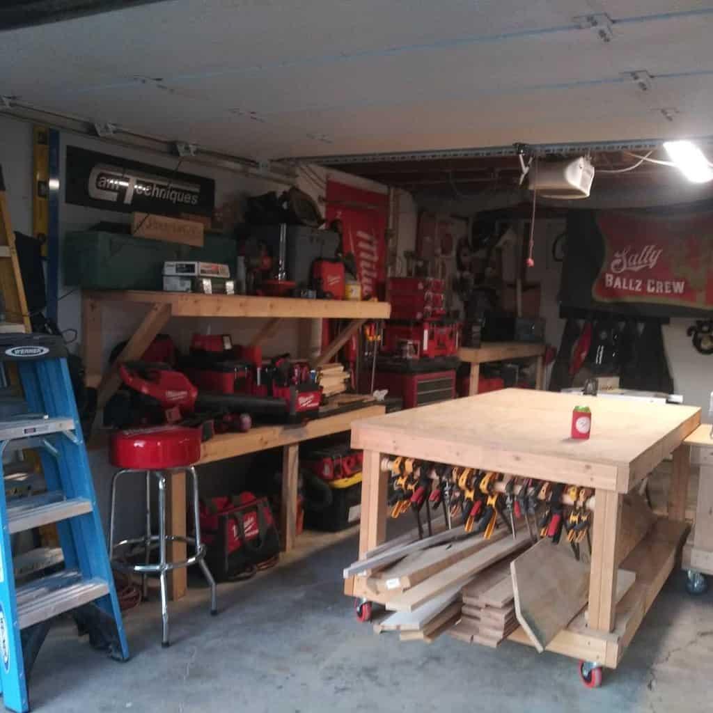 workshop work bench ideas mark.generous