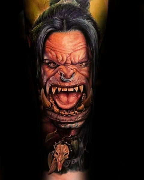 World Of Warcraft Male Tattoos