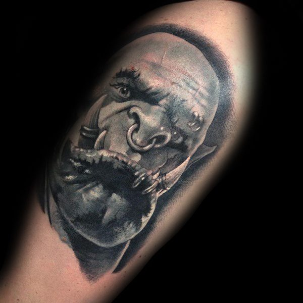 World Of Warcraft Tattoo Designs On Men