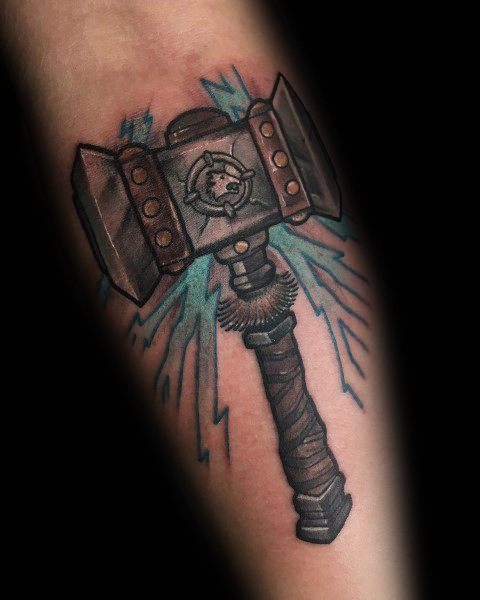World Of Warcraft Tattoo For Men