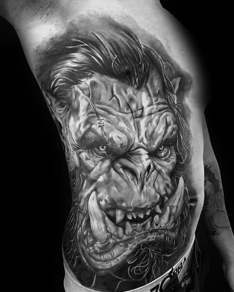 World Of Warcraft Tattoos For Gentlemen
