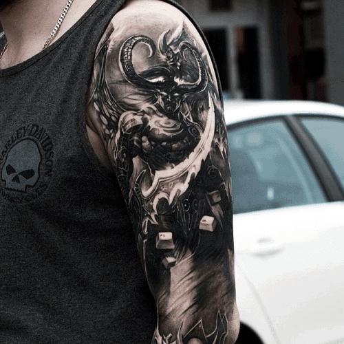 World Of Warcraft Tattoos For Men