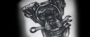 60 Wrench Tattoo Designs For Men – Tool Ink Ideas