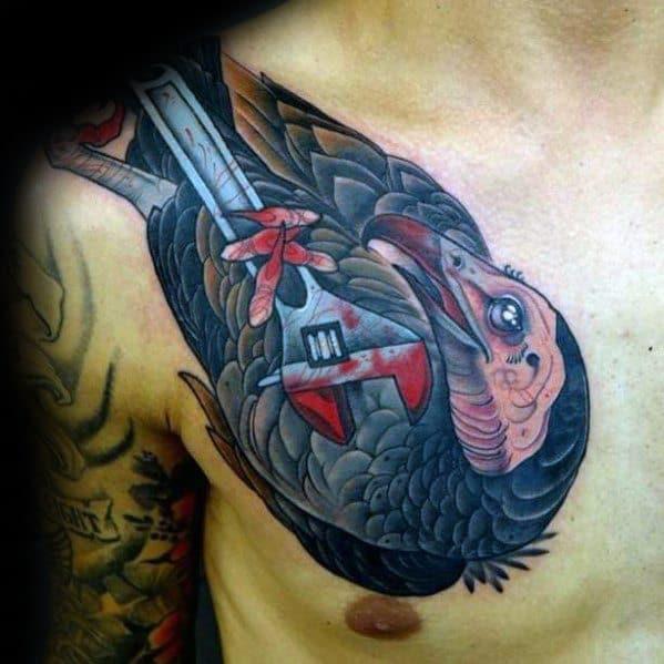 Wrench Tattoos Men
