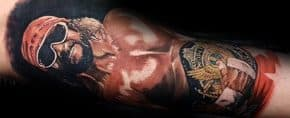 60 Wrestling Tattoos For Men – WWE Design Ideas